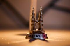 Tours jumelles de Malysia Photos libres de droits