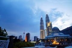 Tours jumelles de Petronas Photographie stock libre de droits