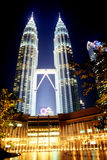 Tours jumelles de Petronas Images stock