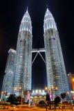 Tours jumelles de Petronas Image libre de droits