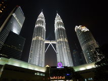 Tours jumelles de Petronas Photo stock