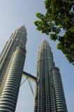 Tours jumelles de Petronas Photos stock