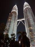 Tours jumelles de Petronas photos libres de droits