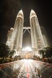 Tours jumelles de Petronas Photo libre de droits