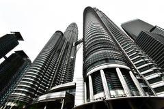 Tours jumelles de Petronas Images libres de droits