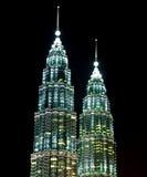 Tours jumelles de Petronas, (KLCC). Image libre de droits