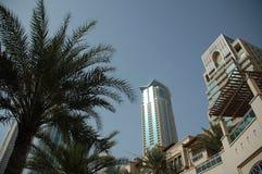 Tours modernes à Dubaï Photographie stock libre de droits
