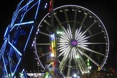 Tours par nuit chez le comté de Los Angeles juste photos libres de droits