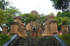 Tours PO Nagar Image libre de droits