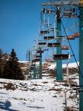 Tours scéniques d'ascenseur de chaise image libre de droits