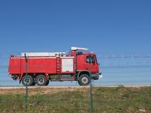 Tours spéciaux de camion de pompiers Images libres de droits