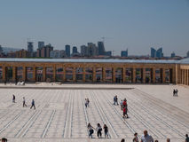 Toursists на Anitkabir, Анкаре, Турции Стоковое Изображение