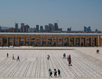 Toursists chez Anitkabir, Ankara, Turquie Photos libres de droits