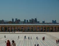 Toursists en Anitkabir, Ankara, Turquía Fotos de archivo libres de regalías