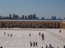 Toursists przy Anitkabir, Ankara, Turcja Obraz Stock