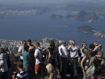Toursits in Rio de Janeiro Stock Image