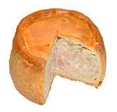 Tourtière de Melton Mowbray Image stock