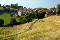 Tourtour village provence. Tourtour village in the hills of southern france, Provence Stock Photography