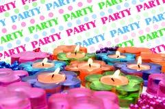 Tous à l'extérieur Party Images stock