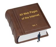 Tous les pages Web photographie stock