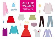 Tous pour la femme Photos stock
