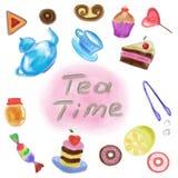 Tous pour le thé Photo stock