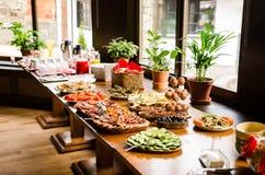 Tous vous pouvez manger le petit déjeuner Photographie stock