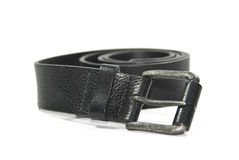 Touser belt. Isolated on a white Royalty Free Stock Photos