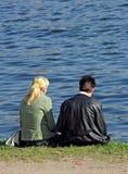 tousled flickagrabb Fotografering för Bildbyråer