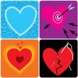 Tout au sujet de l'amour Photo stock