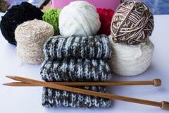 Tout environ du tricotage Photos libres de droits