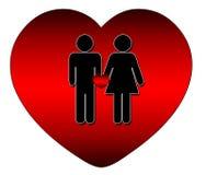Tout l'amour est bon Photographie stock libre de droits