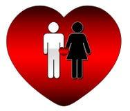 Tout l'amour est bon Photos libres de droits