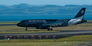 Tout l'avion de noirs Image libre de droits