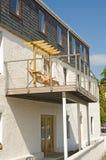 Tout le balcon en métal. Images stock
