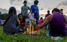 Tout le jour de saints à Philippines Photographie stock