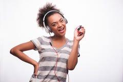 Tout le monde aime la musique Images libres de droits