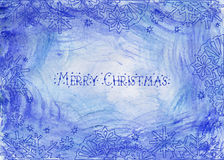 tout le Noël clôturé éditent la possibilité de pièces de l'illustration eps8 pour diriger Image stock