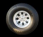 Tout le pneu automatique de terrain Image stock