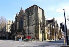 Toute l'église de saints, soulevée, le Sussex, Angleterre images stock