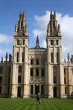 Toute l'université Oxford d'âmes Image libre de droits
