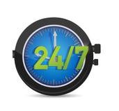 toute la journée chaque montre de service de jour Photos libres de droits