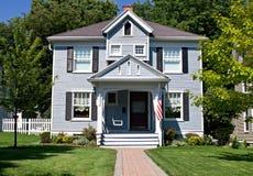 Toute la maison américaine Photos stock