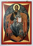 Toute-puissant du Christ photo stock