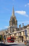 Toutes les âmes université, Oxford Photographie stock libre de droits