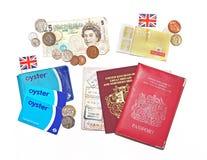 Toutes les choses britanniques Image libre de droits