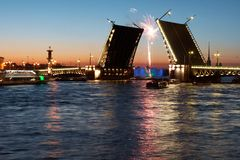 Toutes les choses célèbres de St Petersburg dans une Photographie stock libre de droits