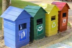 Toutes les poubelles Photo libre de droits
