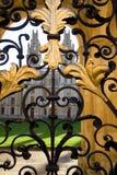 Toutes les université d'âmes et porte, Oxford Image libre de droits