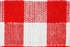 Tovaglia Checkered immagine stock libera da diritti